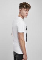 Pánske tričko MR.TEE Tupac Profile Tee Farba: white, Grösse: XXL #3