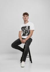 Pánske tričko MR.TEE Tupac Profile Tee Farba: white, Grösse: XXL #4