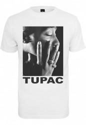 Pánske tričko MR.TEE Tupac Profile Tee Farba: white, Grösse: XXL #5