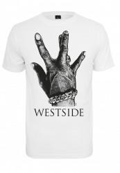 Pánske tričko MR.TEE Westside Connection 2.0 Tee Farba: white,