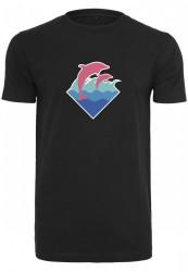 Pánske tričko Pink Dolphin Logo Tee Farba: white,