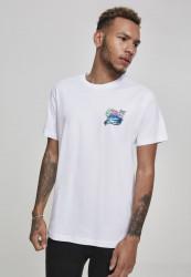 Pánske tričko Pink Dolphin Roll Tide Tee Farba: white,