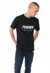 Pánske tričko Pusher High Powered Tee Farba: black, #1