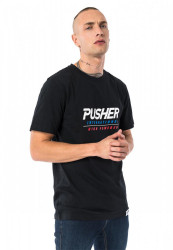 Pánske tričko Pusher High Powered Tee Farba: black, #2