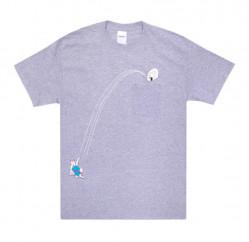 Pánske tričko RIPNDIP Hoops Pocket Tee grey