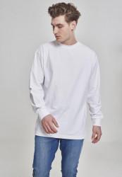 Pánske tričko s dlhým rukávom URBAN CLASSICS Boxy Heavy Longsleeve white