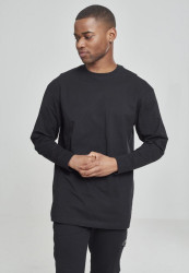 Pánske tričko s dlhým rukávom URBAN CLASSICS Tall Tee L/S black