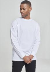 Pánske tričko s dlhým rukávom URBAN CLASSICS Tall Tee L/S white