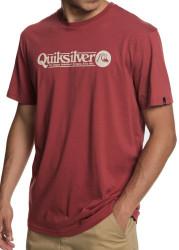 Pánske tričko s krátkym rukávom Quiksilver Arttickles red Farba: Červená,