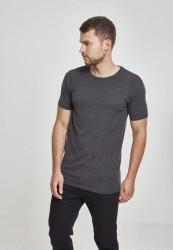 Pánske tričko s krátkym rukávom URBAN CLASSICS Fitted Stretch Tee charcoal