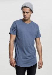 Pánske tričko s krátkym rukávom URBAN CLASSICS Lace Up Long Tee stone blue