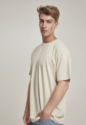 Pánske tričko s krátkym rukávom URBAN CLASSICS Organic Basic Tee sand #1