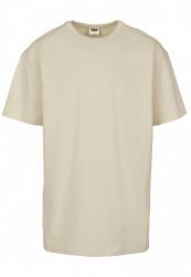 Pánske tričko s krátkym rukávom URBAN CLASSICS Organic Basic Tee sand #4