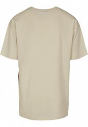 Pánske tričko s krátkym rukávom URBAN CLASSICS Organic Basic Tee sand #5