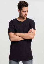 Pánske tričko s krátkym rukávom URBAN CLASSICS Peached Shaped Long Tee čierne