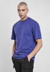 Pánske tričko s krátkym rukávom URBAN CLASSICS Tall Tee bluepurple