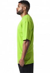 Pánske tričko s krátkym rukávom URBAN CLASSICS Tall Tee limegreen #1