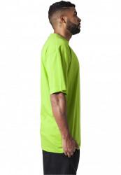 Pánske tričko s krátkym rukávom URBAN CLASSICS Tall Tee limegreen #3