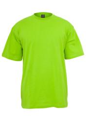 Pánske tričko s krátkym rukávom URBAN CLASSICS Tall Tee limegreen #4