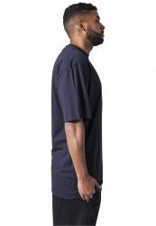 Pánske tričko s krátkym rukávom URBAN CLASSICS Tall Tee navy #3