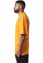 Pánske tričko s krátkym rukávom URBAN CLASSICS Tall Tee orange #1