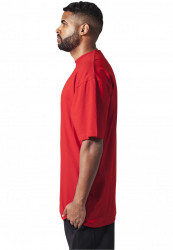 Pánske tričko s krátkym rukávom URBAN CLASSICS Tall Tee red #1