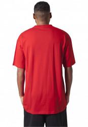 Pánske tričko s krátkym rukávom URBAN CLASSICS Tall Tee red #2