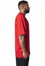 Pánske tričko s krátkym rukávom URBAN CLASSICS Tall Tee red #3