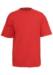 Pánske tričko s krátkym rukávom URBAN CLASSICS Tall Tee red #4