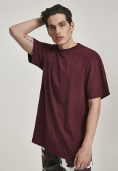 Pánske tričko s krátkym rukávom URBAN CLASSICS Tall Tee redwine