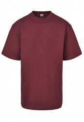 Pánske tričko s krátkym rukávom URBAN CLASSICS Tall Tee redwine #4