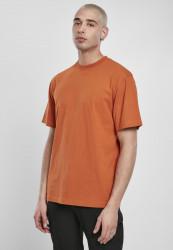 Pánske tričko s krátkym rukávom URBAN CLASSICS Tall Tee rustred
