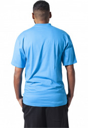 Pánske tričko s krátkym rukávom URBAN CLASSICS Tall Tee turquoise #2