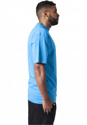 Pánske tričko s krátkym rukávom URBAN CLASSICS Tall Tee turquoise #3