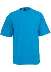 Pánske tričko s krátkym rukávom URBAN CLASSICS Tall Tee turquoise #4