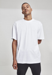 Pánske tričko s krátkym rukávom URBAN CLASSICS Tall Tee white