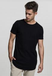 Pánske tričko s krátkym rukávom URBAN CLASSICS Thermal Slub Raglan Tee čierna