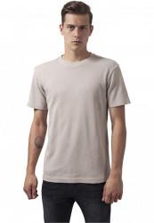 Pánske tričko s krátkym rukávom URBAN CLASSICS Thermal Tee béžová