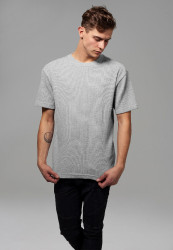 Pánske tričko s krátkym rukávom URBAN CLASSICS Thermal Tee šedé