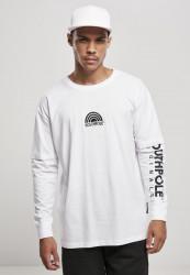 Pánske tričko Southpole Basic Double Sleeve Farba: white,