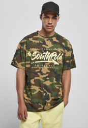 Pánske tričko Southpole Short Sleeve Tee Farba: korean camo,