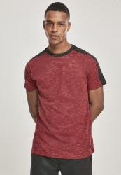 Pánske tričko SOUTHPOLE Shoulder Panel Tech Tee Farba: marled red,