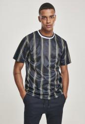 Pánske tričko SOUTHPOLE Thin Vertical Stripes AOP T-Shirt Farba: Navy,