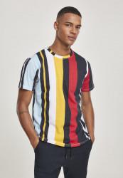 Pánske tričko SOUTHPOLE Vertical Block AOP T-Shirt Farba: Navy,