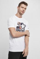 Pánske tričko Starter All Net Jersey Farba: white,