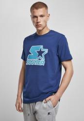 Pánske tričko Starter Contrast Logo Jersey Farba: space blue,