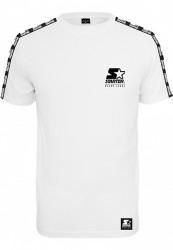 Pánske tričko Starter Logo Taped Tee Farba: white,
