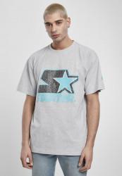 Pánske tričko Starter Multicolored Logo Tee Farba: white/pink,
