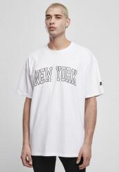 Pánske tričko Starter New York Tee Farba: white,