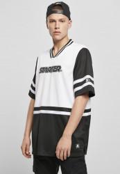 Pánske tričko Starter Sport Jersey Farba: black/white,